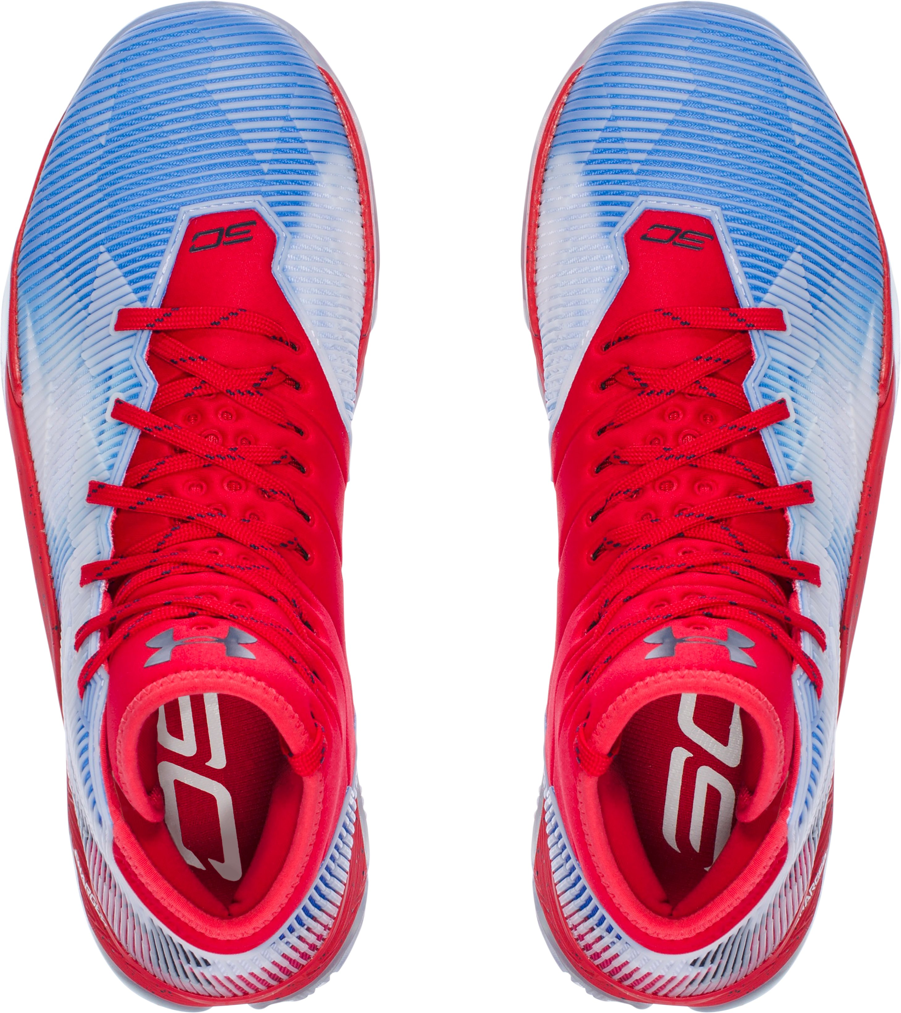 Men's UA Curry 2.5 — Limited Edition Basketball Shoes, Red,