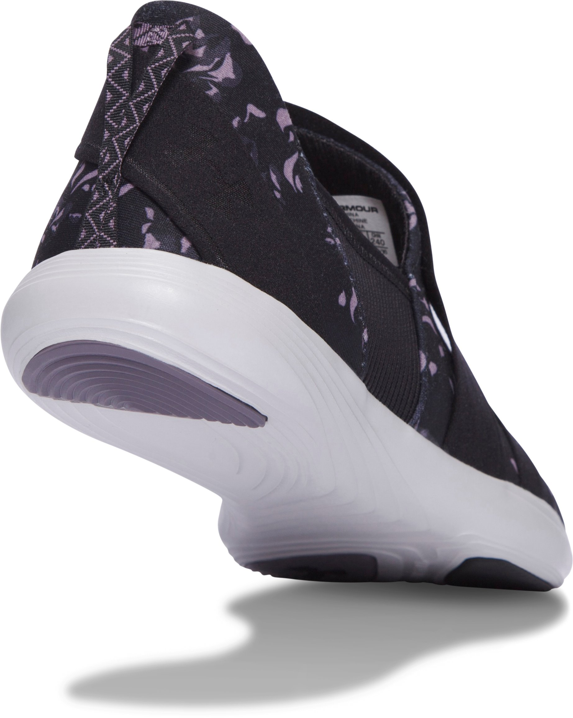 Women's UA Street Precision Slip On Printed Shoes, FLINT
