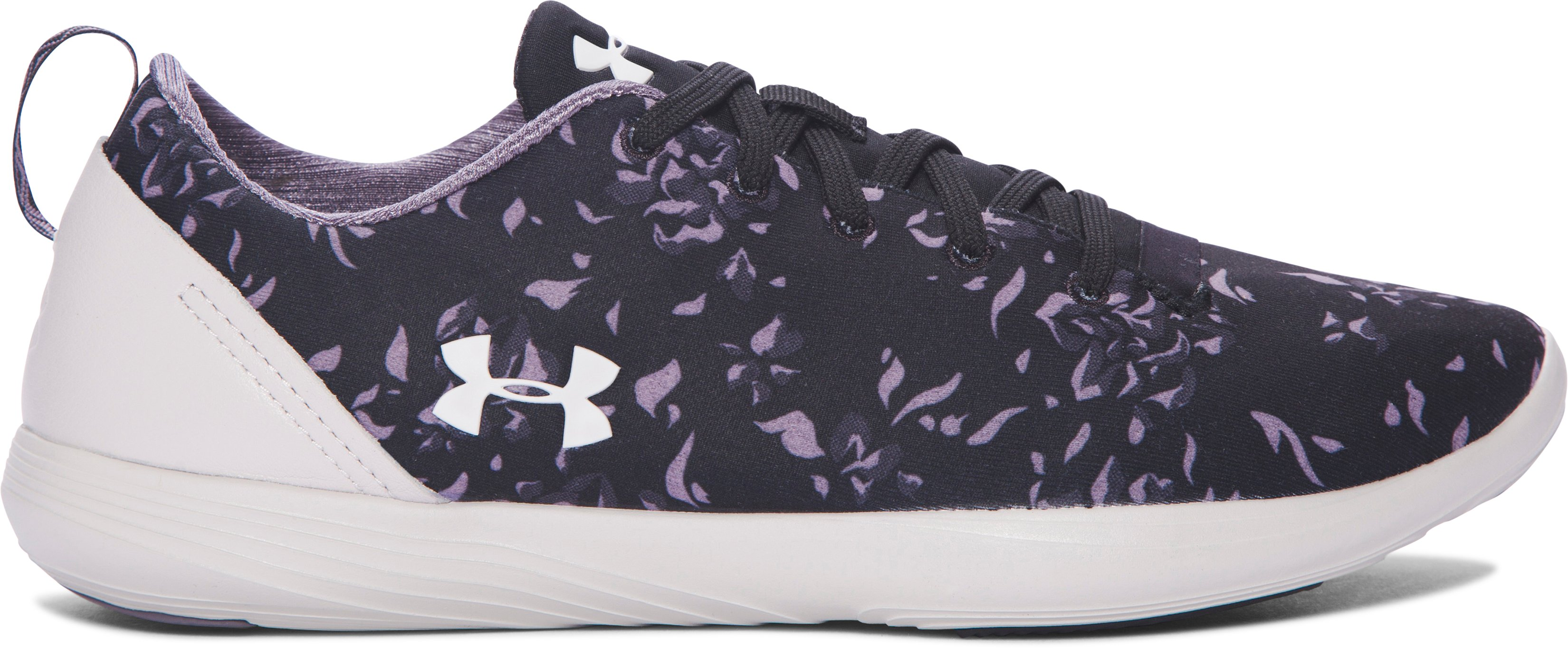 Women's UA Street Precision Sport Low Premium Lifestyle Shoes, Black , zoomed image