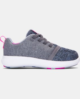 Girls' Infant UA Charged 24/7 Low Shoes   $44.99