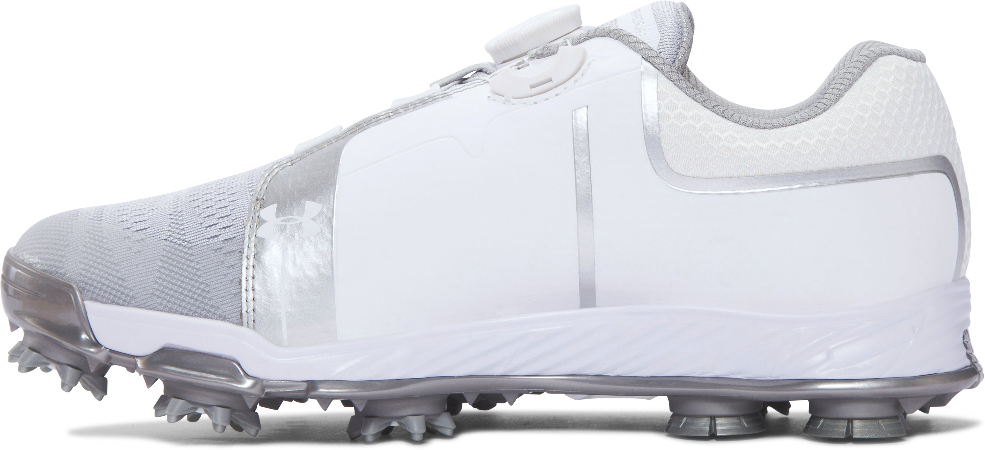 Women's UA Tempo Sport BOA™ Golf Shoes, White, undefined