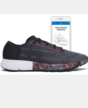 Digitally Connected Shoe Men's UA SpeedForm® Velociti Record-Equipped Running Shoes   $127.99