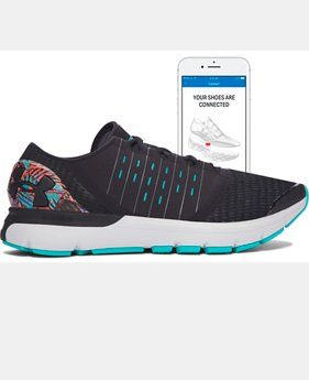 Digitally Connected Shoe Men's UA SpeedForm® Europa Record-Equipped Running Shoes   $142.99