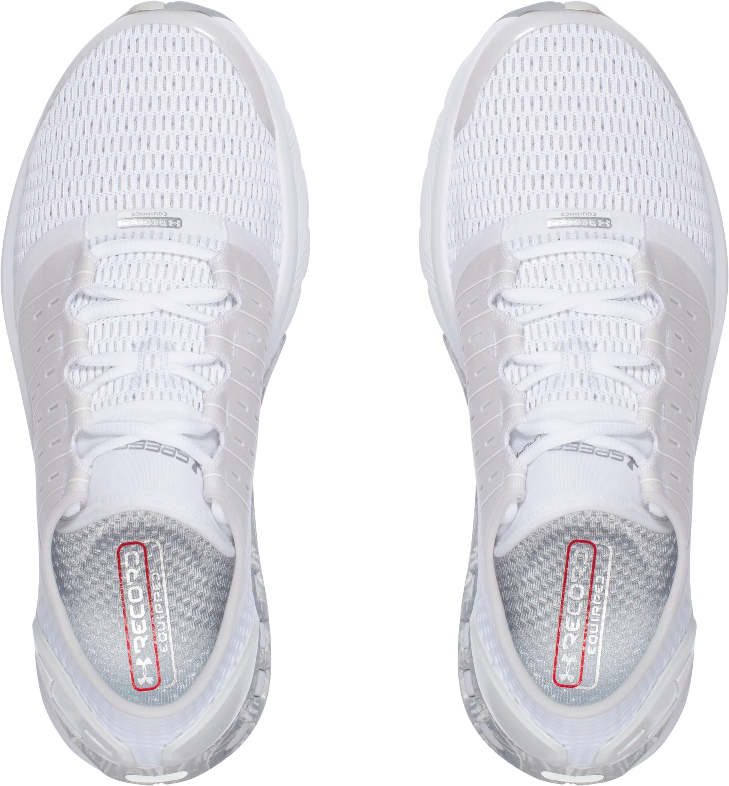 Men's UA SpeedForm® Europa Record-Equipped Running Shoes, White,