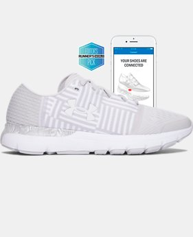 Digitally Connected Shoe Women's UA SpeedForm® Gemini 3 Record-Equipped Running Shoes   $149.99
