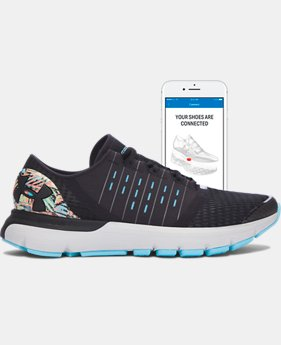 Digitally Connected Shoe Women's UA SpeedForm® Europa Record-Equipped Running Shoes   $119.99