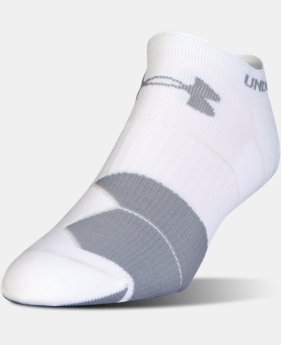 Men's UA Run Cushion Tab No Show Socks  2 Colors $13