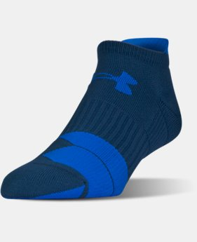 Men's UA Run Cushion Tab No Show Socks  4 Colors $13