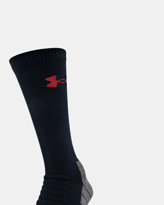 UA All Season Wool Boot Socks, Black, pdpMainDesktop image number 0