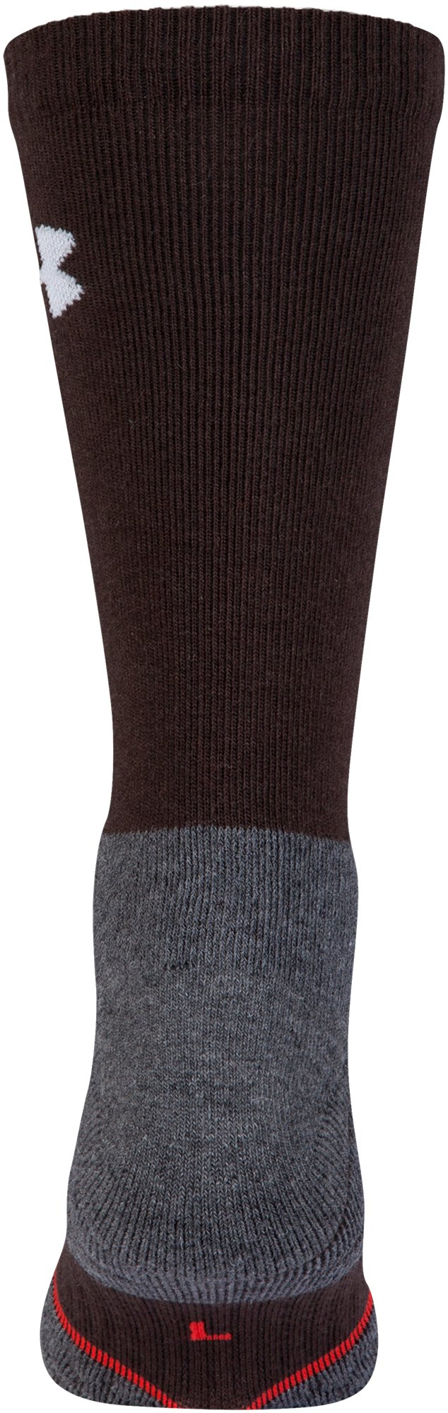 UA All Season Wool Boot Socks, MAVERICK BROWN, undefined