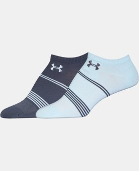 Women's UA Grippy 3.0 No Show Socks – 2 Pack  1 Color $13.99