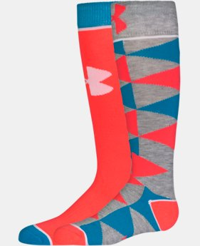 Girls' UA NEXT Knee High Socks LIMITED TIME: FREE U.S. SHIPPING 1 Color $14.99