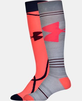 Women's UA Big Logo Knee High Socks LIMITED TIME: FREE U.S. SHIPPING 1 Color $15.99