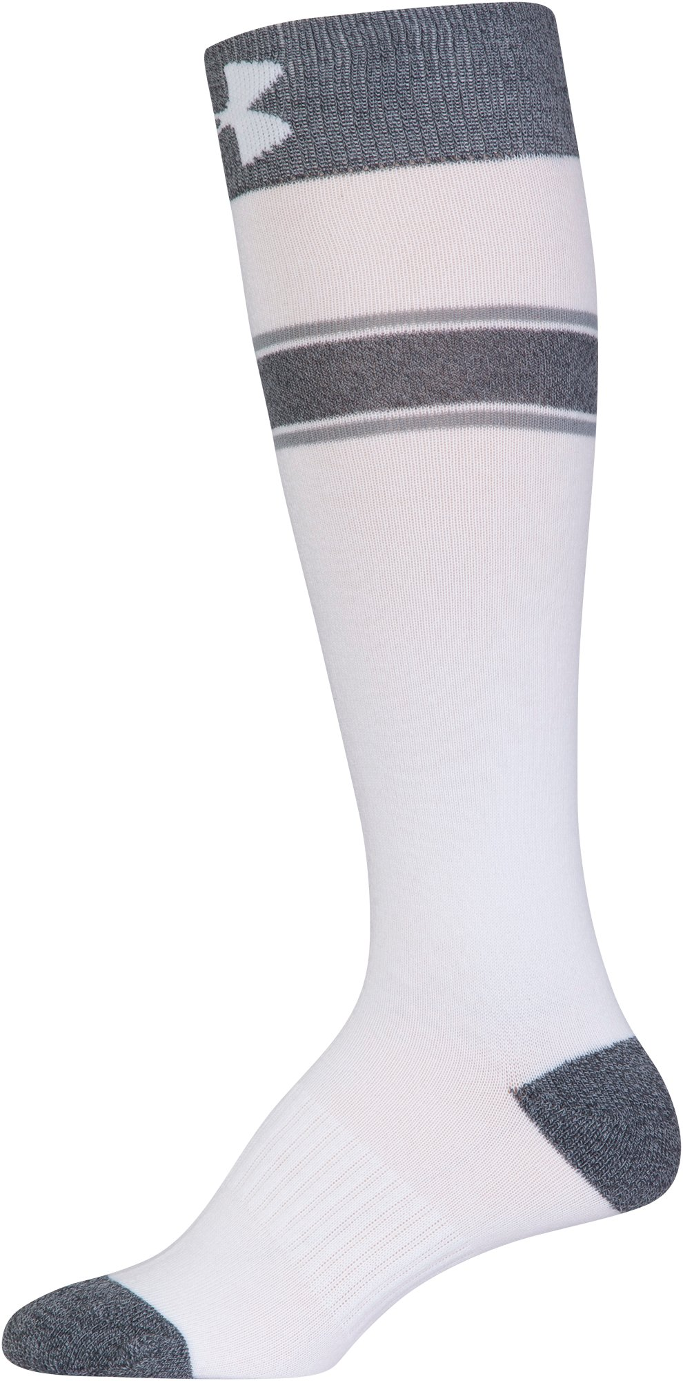 Women's UA Essential Knee High Socks, STEALTH GRAY, undefined