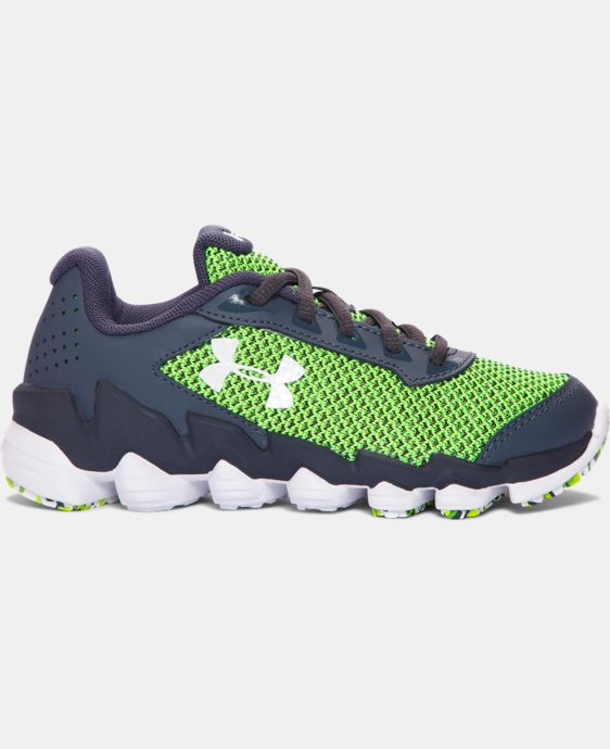 Boys' Pre-School UA Spine Disrupt TCK Running Shoes   $59.99