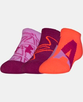 Girls' UA NEXT 2.0 SoLo Socks – 3 Pack