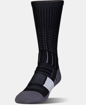 Best Seller Men's UA Unrivaled Crew Socks LIMITED TIME: FREE U.S. SHIPPING 1 Color $14.99