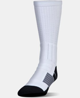 Best Seller Men's UA Unrivaled Crew Socks  4 Colors $14.99