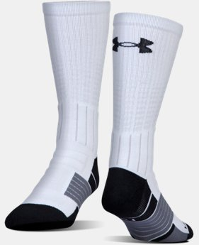 Best Seller Men's UA Unrivaled Crew Socks  7 Colors $15