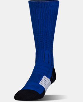 Best Seller Men's UA Unrivaled Crew Socks  3 Colors $14.99
