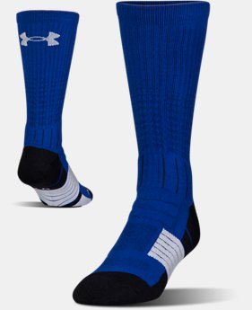 Best Seller Men's UA Unrivaled Crew Socks  1  Color Available $15