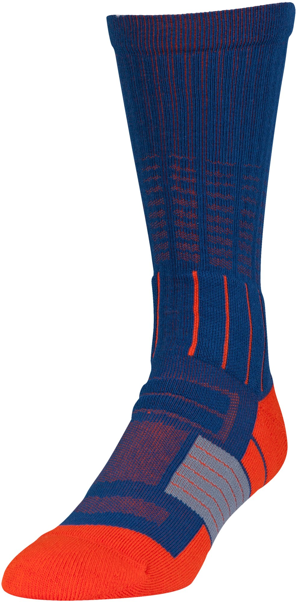 Men's UA Unrivaled Crew Socks, HERON, zoomed image