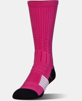 Best Seller Men's UA Unrivaled Crew Socks  2 Colors $14.99