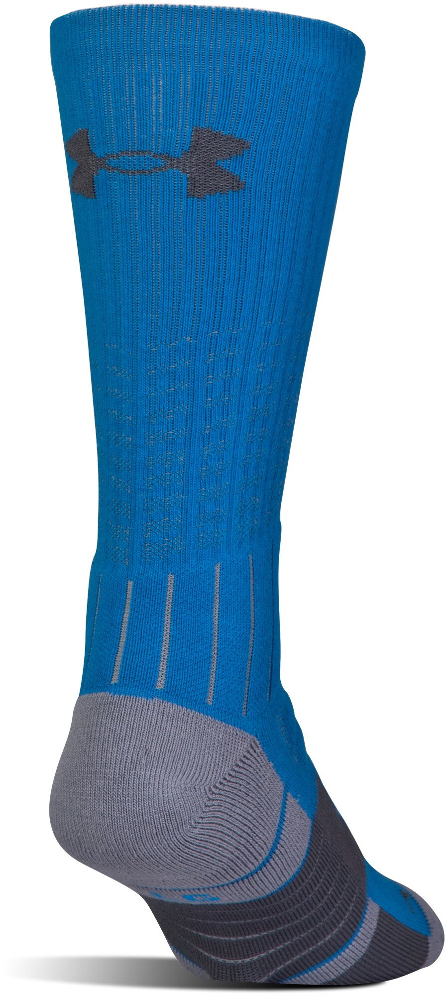 Men's UA Unrivaled Crew Socks, BRILLIANT BLUE,