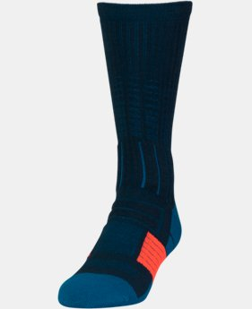 Men's UA Unrivaled Crew Socks LIMITED TIME: FREE U.S. SHIPPING 1 Color $11.99