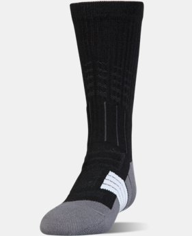 Boys' UA Unrivaled Crew Socks  1  Color $14