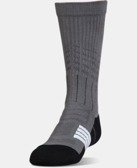 New to Outlet Boys' UA Unrivaled Crew Socks  1  Color Available $7