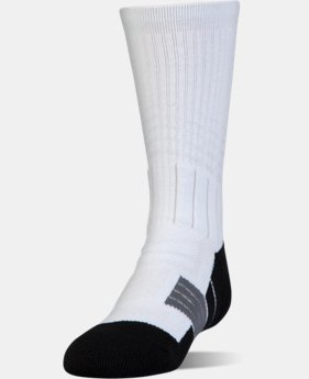 Boys' UA Unrivaled Crew Socks  6  Colors Available $13.99