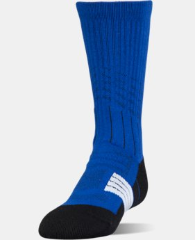 Boys' UA Unrivaled Crew Socks  2  Colors $14