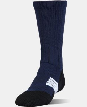 Boys' UA Unrivaled Crew Socks  1 Color $15.99