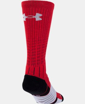 Boys' UA Unrivaled Crew Socks  1  Color Available $14