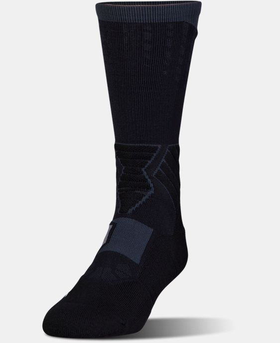 Men's UA Basketball Drive Crew Socks LIMITED TIME: FREE U.S. SHIPPING 8 Colors $17.99