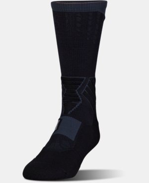 Men's UA Basketball Drive Crew Socks LIMITED TIME: FREE U.S. SHIPPING 6 Colors $17.99