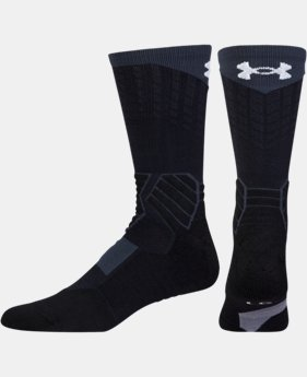 Men's UA Basketball Drive Crew Socks  9 Colors $17.99
