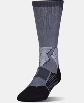 Best Seller Men's UA Basketball Drive Crew Socks  9 Colors $18