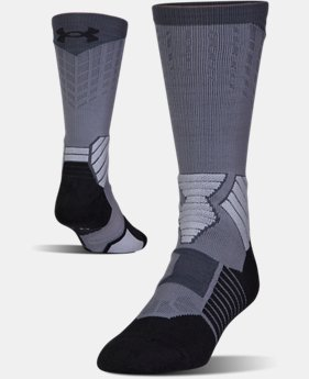 Men's UA Basketball Drive Crew Socks  2  Colors Available $17.99