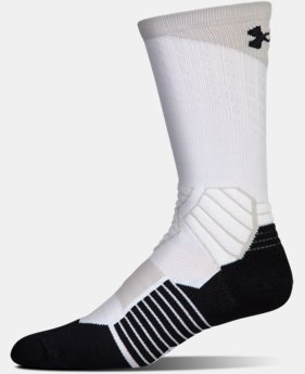 Men's UA Basketball Drive Crew Socks  1  Color Available $17.99