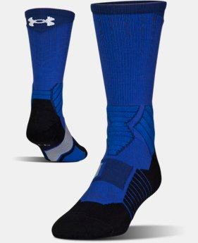 Men's UA Basketball Drive Crew Socks  1  Color Available $18