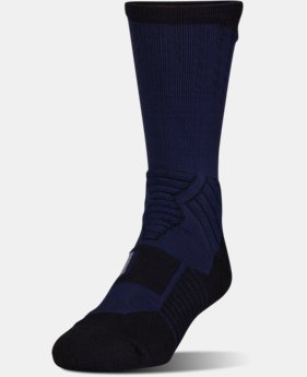 Men's UA Basketball Drive Crew Socks  1  Color Available $20.99