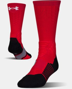 PRO PICK Men's UA Basketball Drive Crew Socks  2 Colors $18