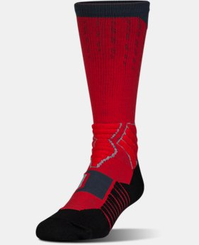 Best Seller Men's UA Basketball Drive Crew Socks  2 Colors $18