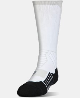 Boys' UA Basketball Drive Crew Socks  5  Colors Available $17