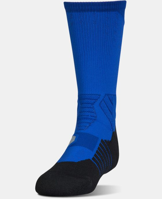 New Arrival Boys' UA Basketball Drive Crew Sock  4 Colors $16.99