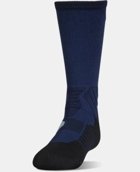Boys' UA Basketball Drive Crew Socks  1  Color Available $16.99
