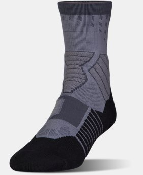 Men's UA Basketball Drive Mid Socks LIMITED TIME: FREE U.S. SHIPPING 1 Color $14.99