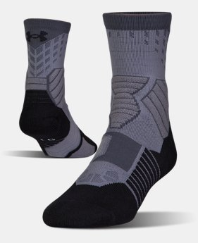 Men's UA Basketball Drive Mid Socks  1 Color $16.99